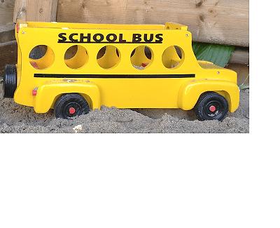 School bus on the go.