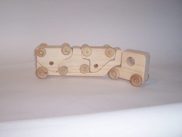 car Carrier and Truck