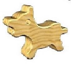 Wood puppy